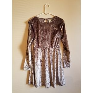 Mossimo crushed velvet dress